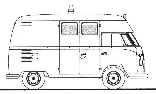 Line Drawing Bus : Not found