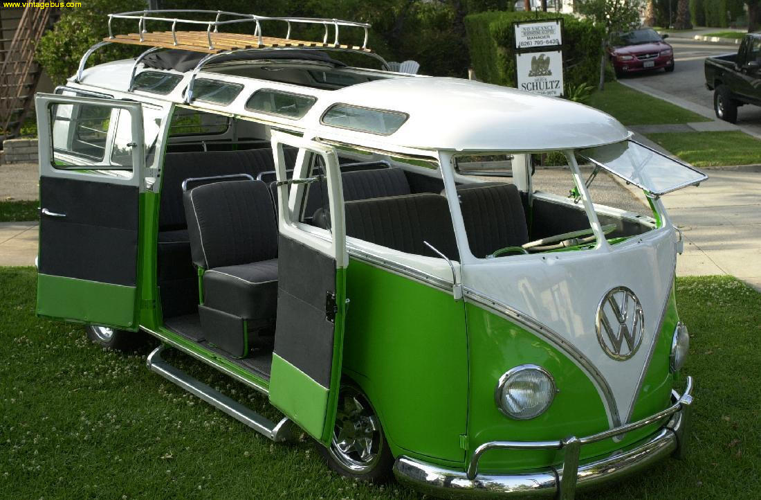 21 window VW bus