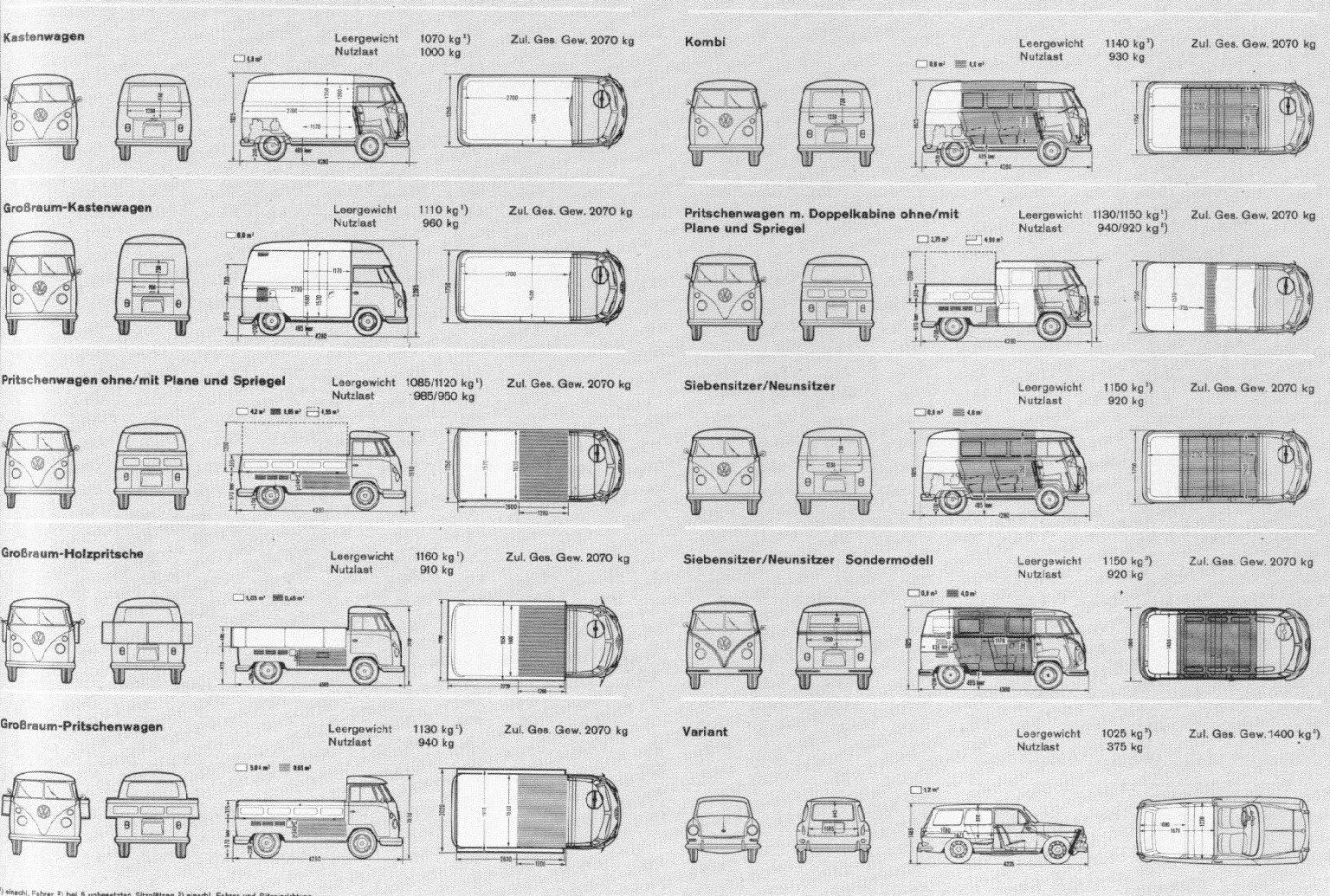 vw bus technical info. Black Bedroom Furniture Sets. Home Design Ideas