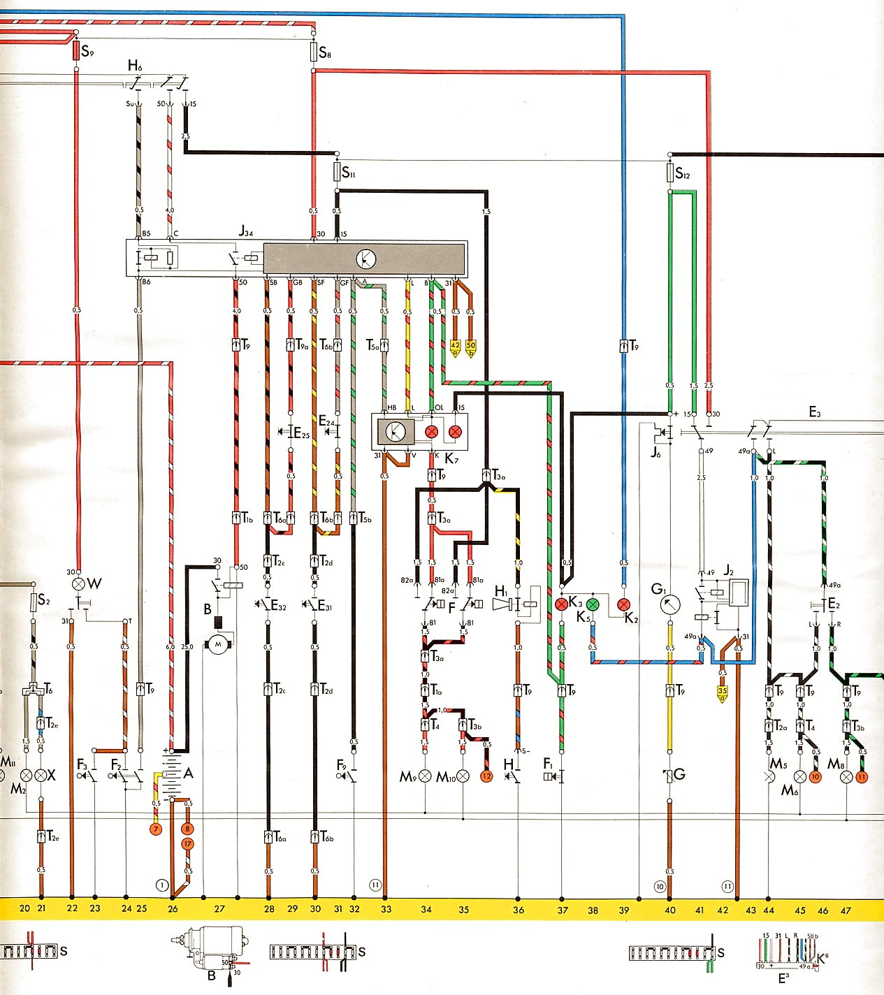78 Vw Bus Wiring Diagram Will Be A Thing Bug Regulator What Goes Here Shoptalkforums Com 1973 1978