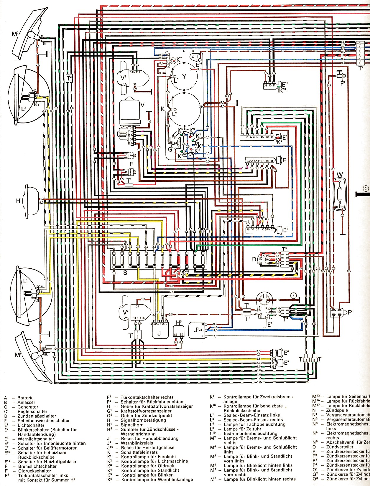 1971 vw transporter wiring diagram wiring library. Black Bedroom Furniture Sets. Home Design Ideas