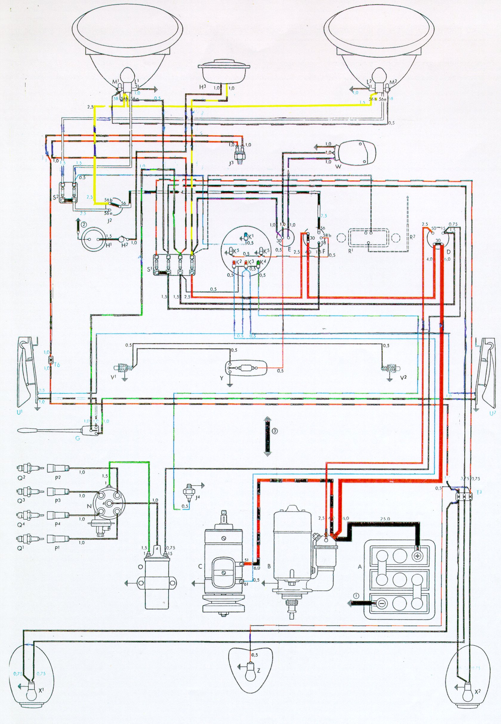 wiring diagram vw beetle wiring image wiring 73 vw bug wiring diagram wirdig on wiring diagram vw beetle 1967